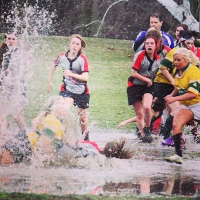 Tag me in your best mud rugby pics with @RugbyNation & #MudRugby and I will feature the best. By @destinyshivener