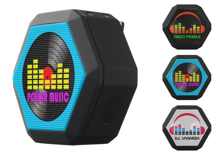 Boombotix Wireless Bluetooth Speakers with Dj Logo, electronics products for sale in Zazzle Store. #speakers #electronics #products #forsale