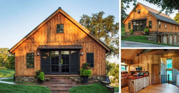 17 best images about rustic country living on pinterest for Barn guest house plans