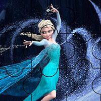 Puzzle: Elsa Frozen Game