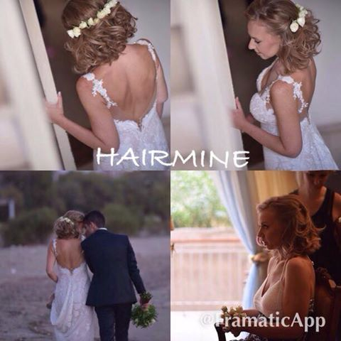 Still searching for the perfect 'do for your big day? Hair by Ermi Sdrali @Hairmine #hair #style #wedding #perfect #bestdayofmylife #feelawesome #lookperfect #love #bride #beauty #hairmine www.hairmine.gr