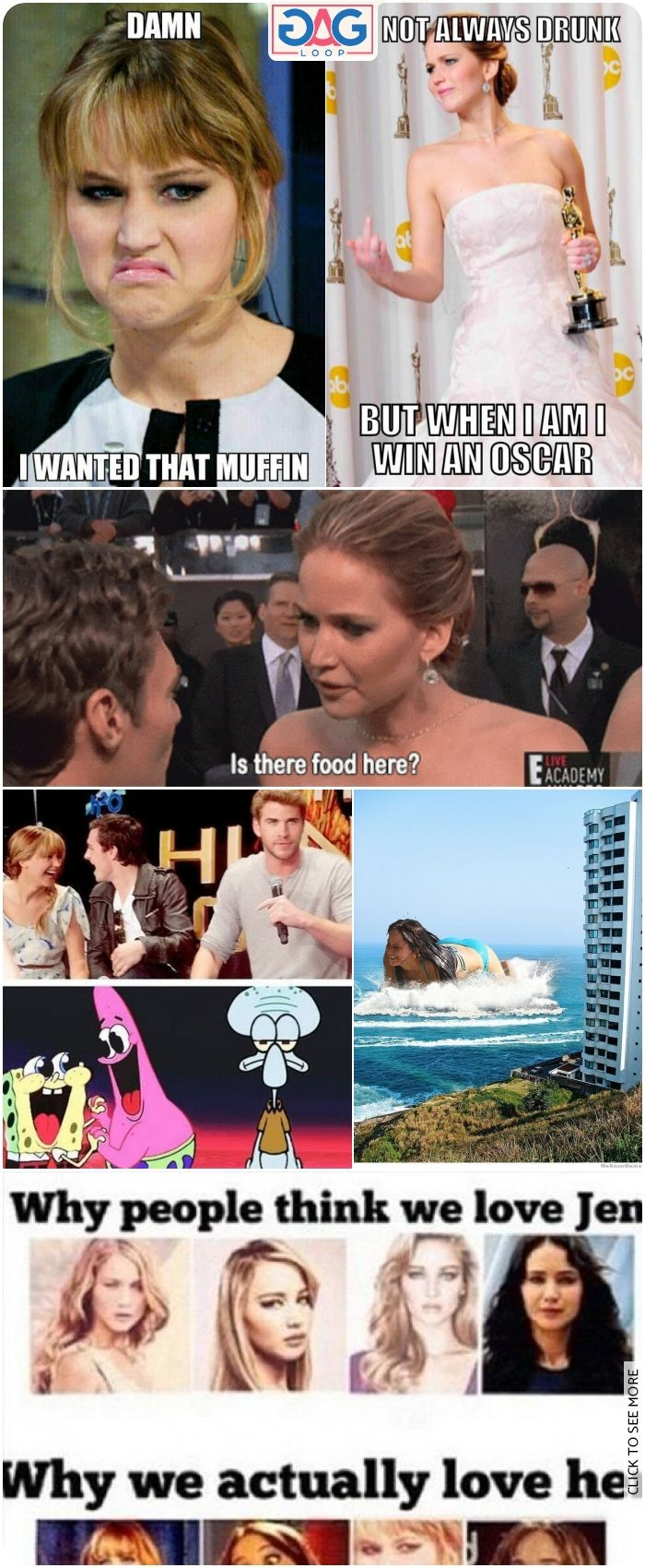 27 Hilarious And Funny Jennifer Lawrence Memes Jennifer Lawrence Lawrence Jennifer