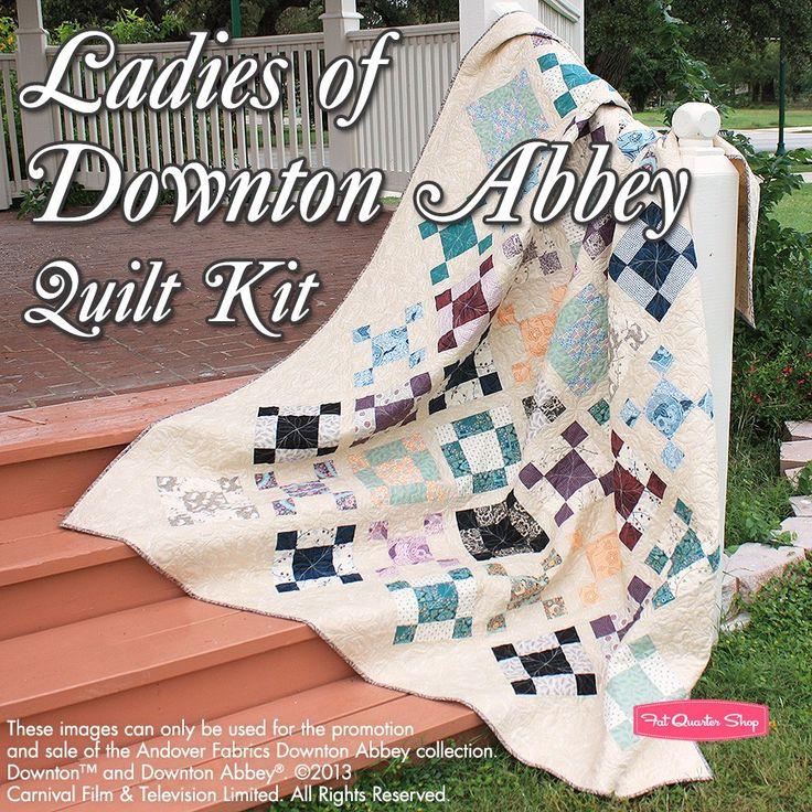 24 best Downton Abbey Quilts images on Pinterest | Quilt patterns ... : downton abbey quilt kits - Adamdwight.com