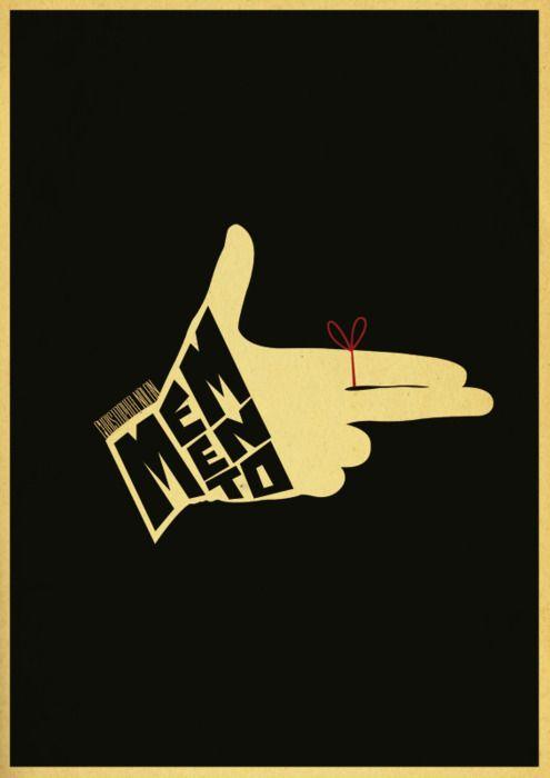 Minimal movie posters - Memento: Minimalist Posters, Movie Film, Minimal Posters, Minimalist Movie Posters, Memento 2000, Sammarkiewicz, Film Posters, Christopher Nolan, Minimal Movie Posters