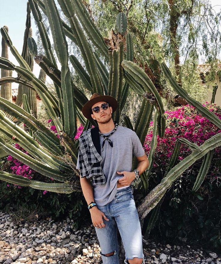 Instagram coachella men's fashion / style!