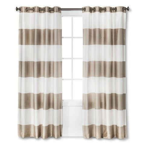 Threshold™ Bold Stripe Curtain Panel I am loving these AND cannot get hubby on board