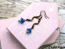 Ohrhänger Bronze Glasblumen von CLARKIkind