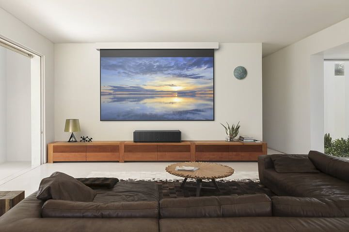 Projectors Vs Tvs Which Is Best For Your Home Theater Digital Trends Home Home Theater Rooms Home Theater Seating