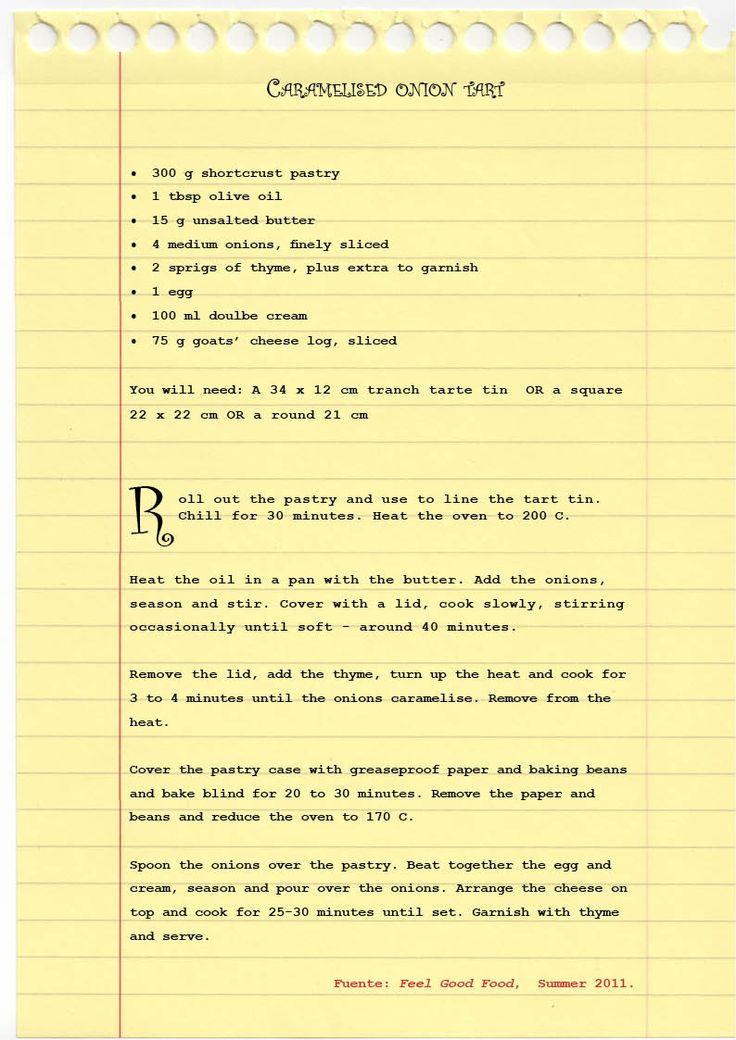 {Scroll down for recipe in English} Octubre me…