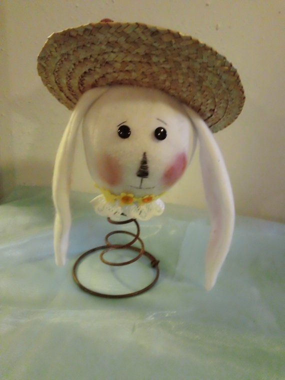 Bed Spring Bunny by 3Peas2010 on Etsy, $15.00