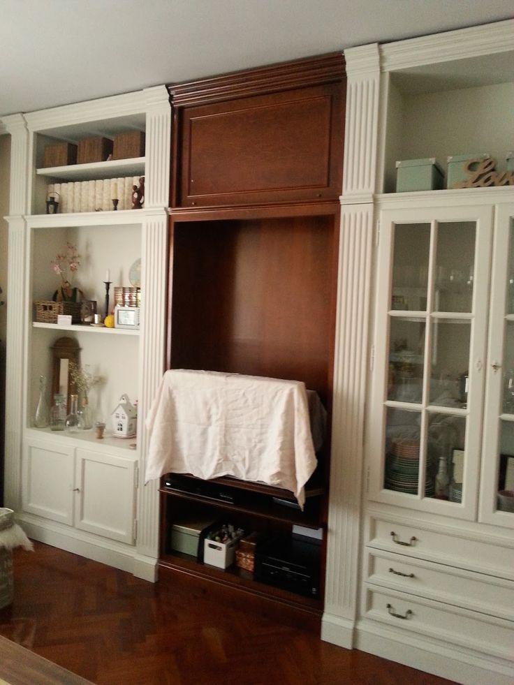 ) Antes y después de mi salón  Mueble salón  Pinterest  Salones