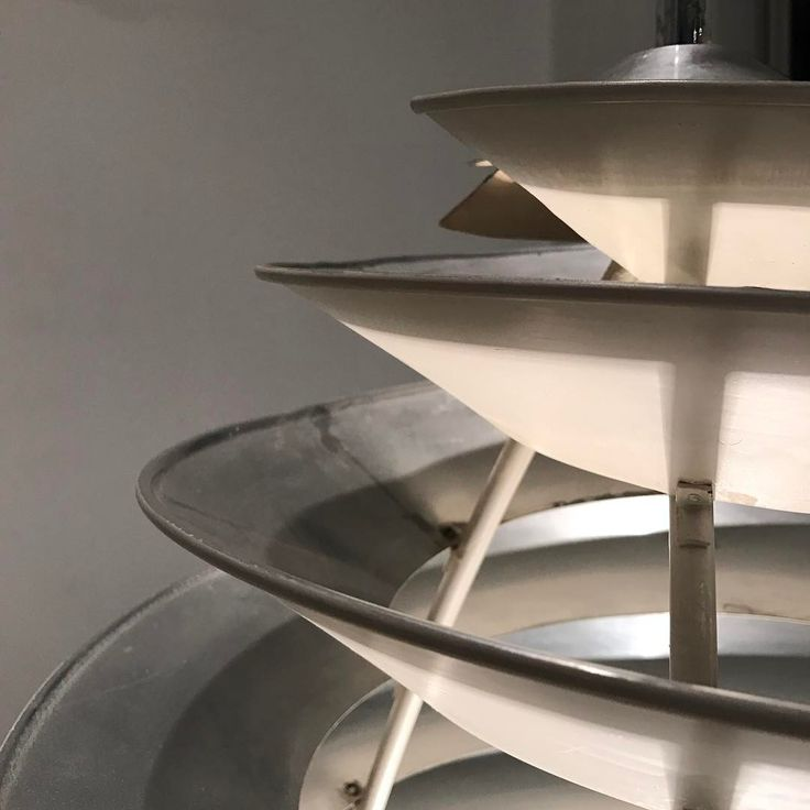 Poul Henningsen Spiral Light made by Louis Poulsen, designed 1942