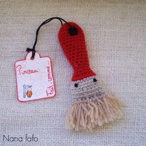 1197 best amigurumis images on pinterest crochet dolls amigurumi serial crocheteuse 208 un pinceau au crochet for men nana fafo crochet et petites histoires ccuart Gallery