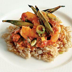 Lowcountry Shrimp-and-Okra Pilau | Recipe