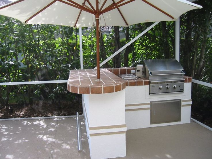 Outdoor Cooking Spaces Part - 15: Small Outdoor Kitchen Ideas | This Small Outdoor Kitchen Was Designed To  Save Space And Add