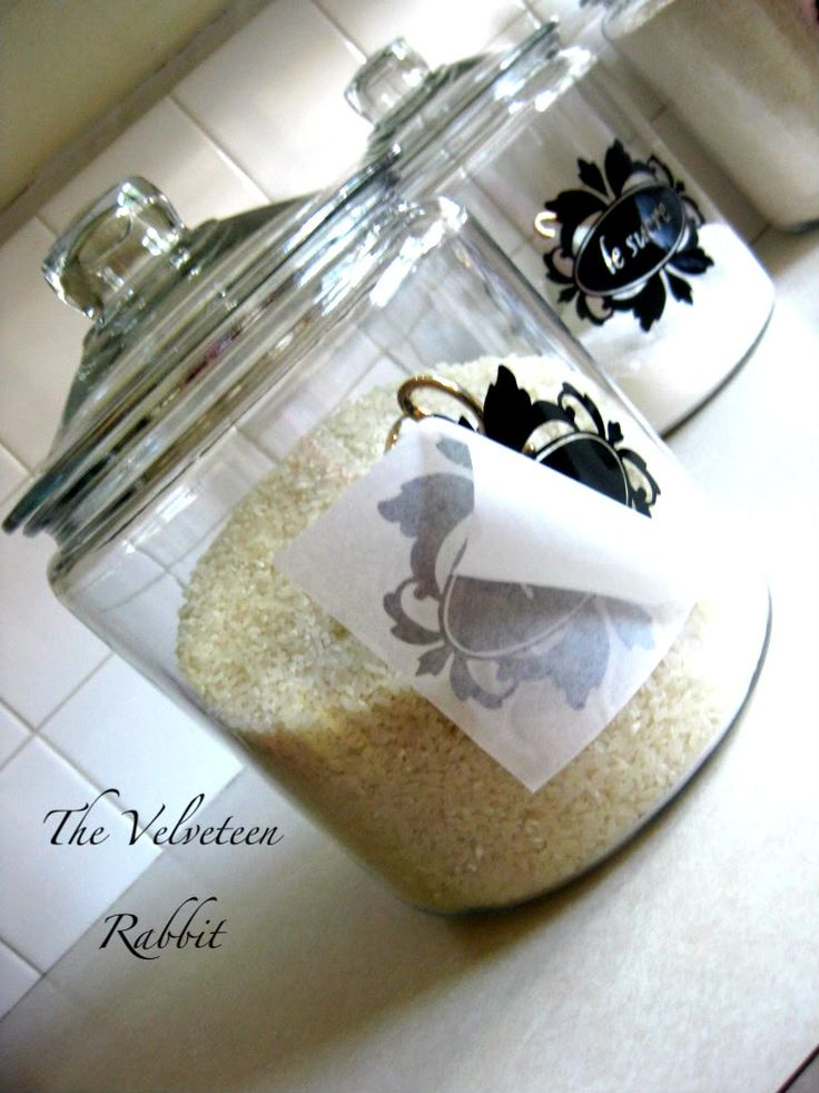 DIY kitchen canisters