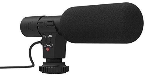 SHARKK Professional Studio / Schrotflinte Stereo Aufnahme-Mikrofon f�r Canon Nikon Pentax Olympus Panasonic digitale SLR-Kamera