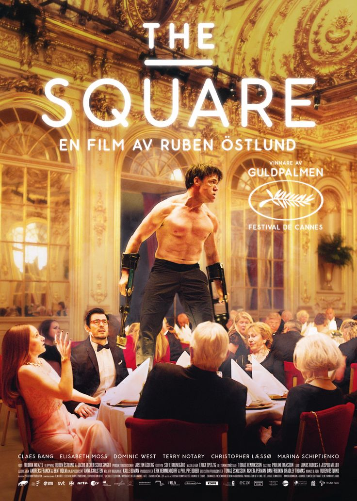 The Square by Ruben östlund Sweden's submission to #Oscars2018
