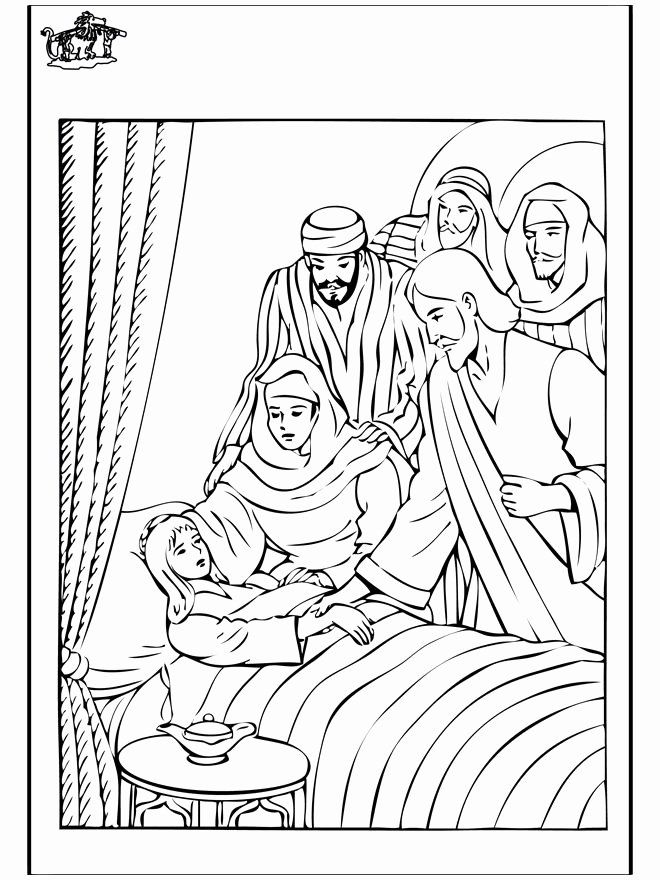 24 Jairus Daughter Coloring Page Jesus Coloring Pages Jairus
