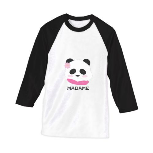 Madame Panda dari tees.co.id Oleh Couple Lab
