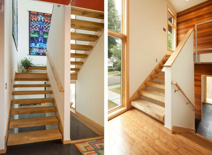 Home Design and Interior Design Gallery of Fancy Art Landing Area Staircase  Wood Steps Energy Efficient. 96 best Furniture images on Pinterest