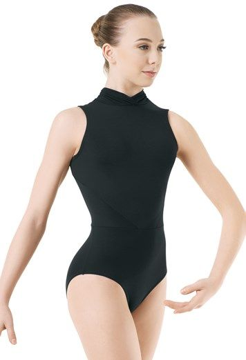Dance Leo w/ Mock Neck & Mesh | Body Wrappers
