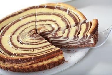 Comparte Recetas - Tarta de Queso con Chocolate