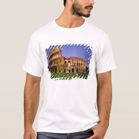 Colosseum at night, Rome, Italy T-Shirt - click to get yours right now!