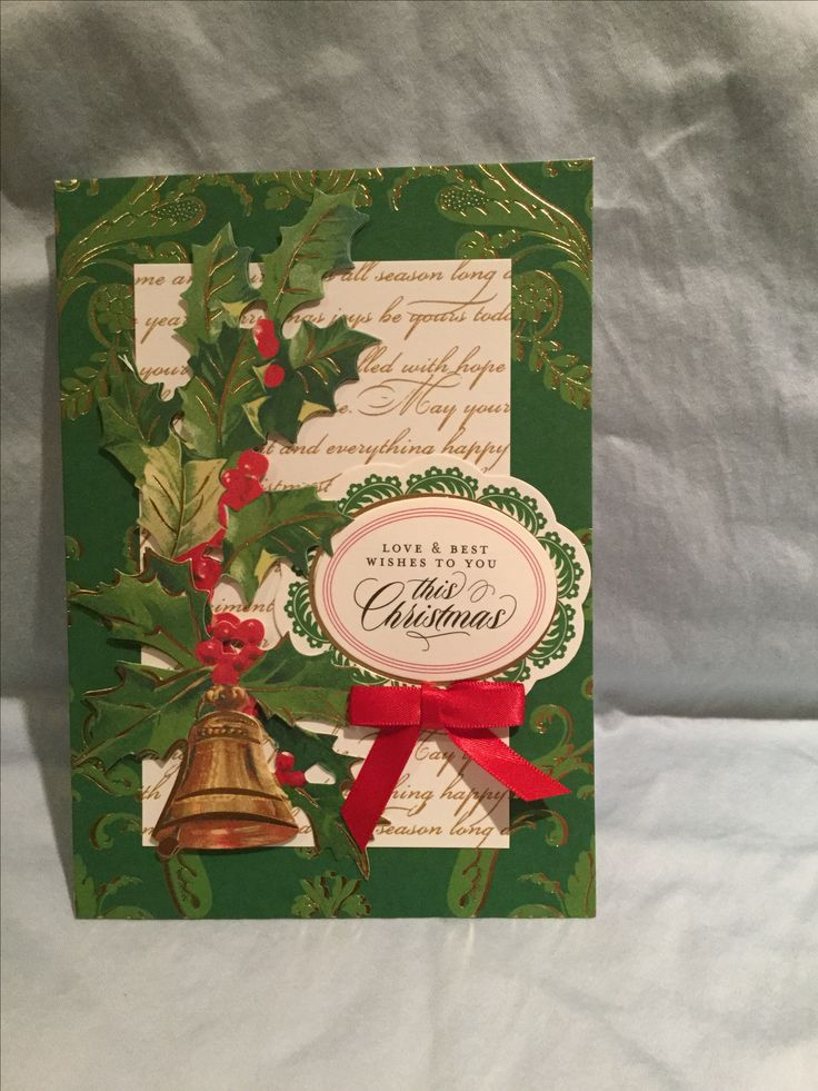 268 Best My Anna Griffin Holiday Cards Images On Pinterest