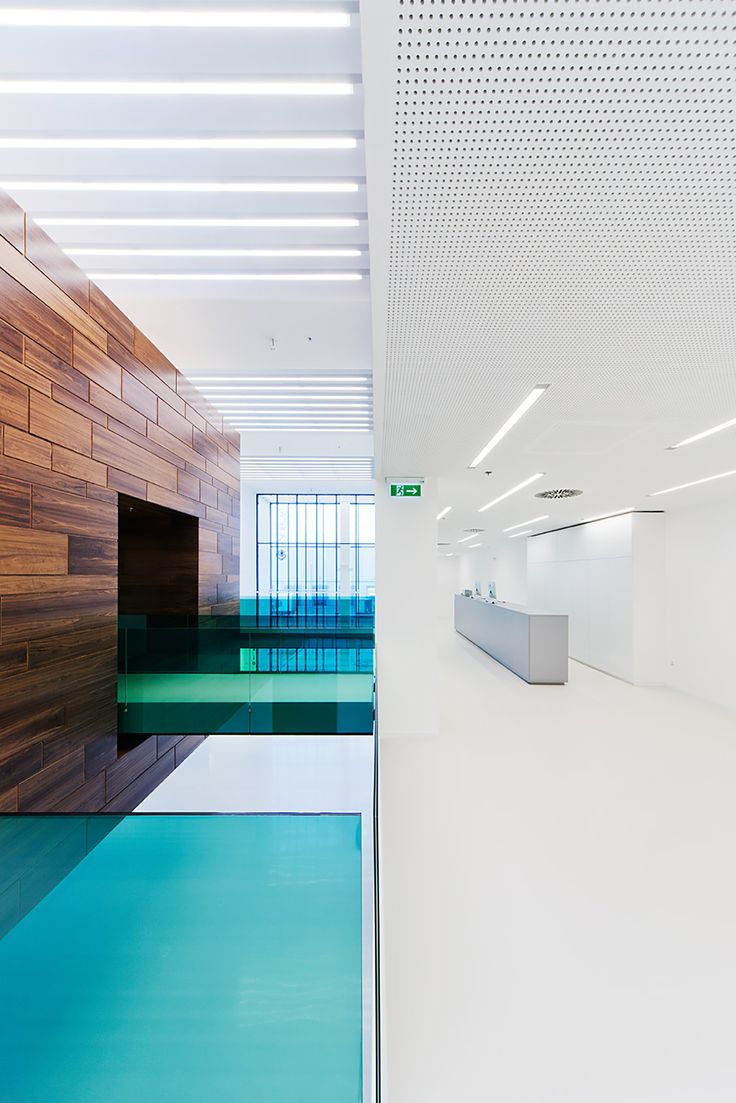 Foldes Architects | www.foldesarchitects.hu | #innovation #centre #architecture #interior #glass #wood #reflection #bridge