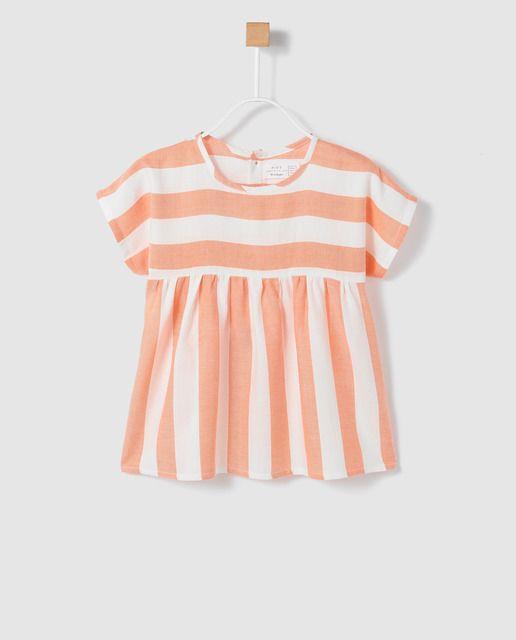 aeb9500d9 Blusa de niña Brotes de rayas bicolor | brotes __ | Brotes, Moda y ...