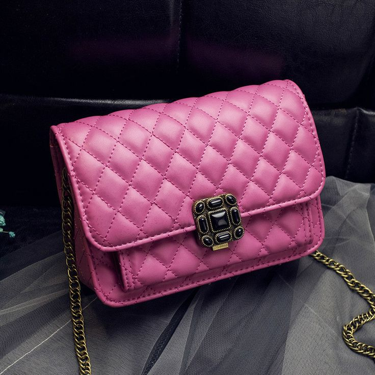 MONNET CAUTHY #Newest Design Women's #Bag Solid Color Black White Rose Pink Grey Flap Classic Elegant #Lady #Fashion #Crossbody #Bags