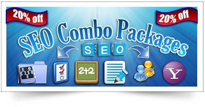 Search Engine Optimization (SEO) is the key tool for the website owners to take the site at the top of the search engines and to get more traffic to the website.If you are a website owner , and you're ready to take the next step, all you need is a great start with our SEO Campaign. We are offering you a All In One SEO Combo Package with discount of 20% off the regular price.