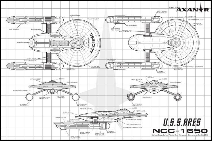 uss ares schematics