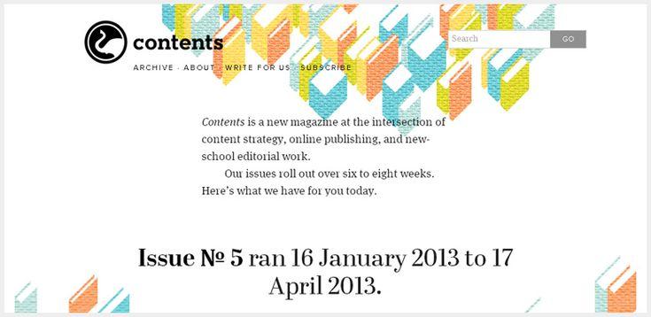 Contents Magazine – Ethan Marcotte's Content-based Responsive Web Design Genius