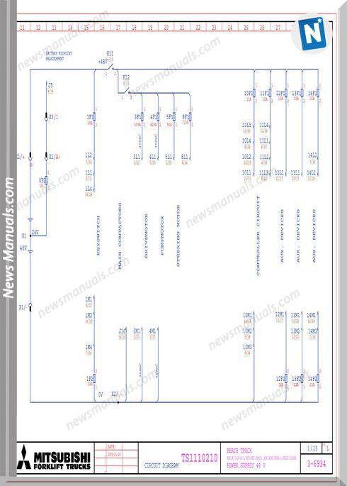 mitsubishi forklift trucks circuit diagram ts1110210 l | wiring diagram |  diagram, circuit diagram và trucks