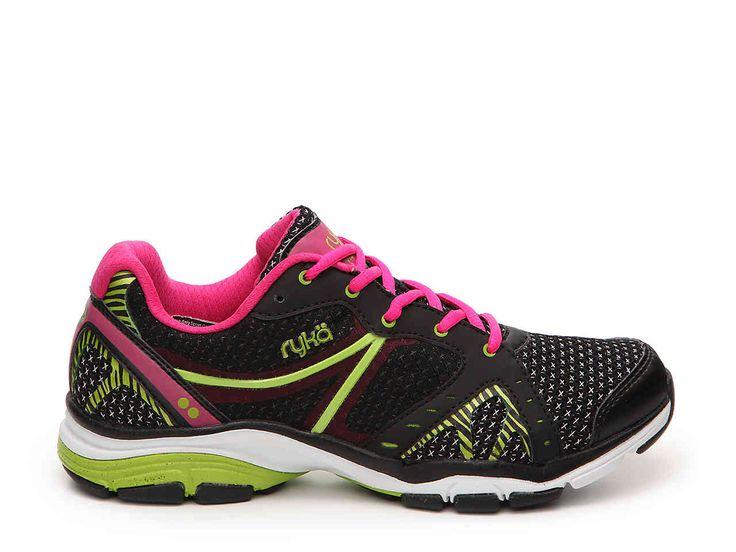 Zapatillas para caminar RYKA Shift para mujer, negras / grises, 11 W US
