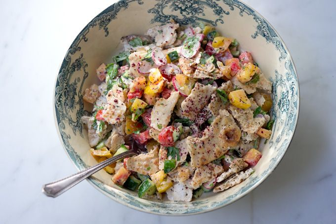 Na'ama's Fattoush Recipe -- Heidi Swanson makes a recipe from Yotam Ottolenghi and Sami Tamimi