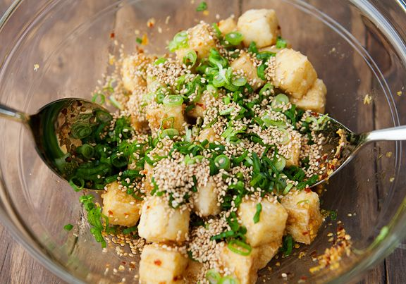 Doubled this recipe PRAYING that the family would like it, served with quinoa and there was nothing left and only 4 of us ate. This is a great recipe give it a try you won't be sorry <3   sesame tofu recipe   use real butter