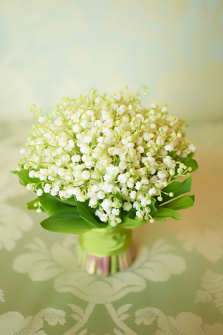 194 best lily of the valley images on pinterest flower lily of the valley bouquet by rob van helden robs signature flower izmirmasajfo