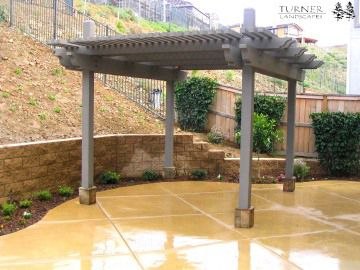 Footings On Patio Cover Garden Pinterest