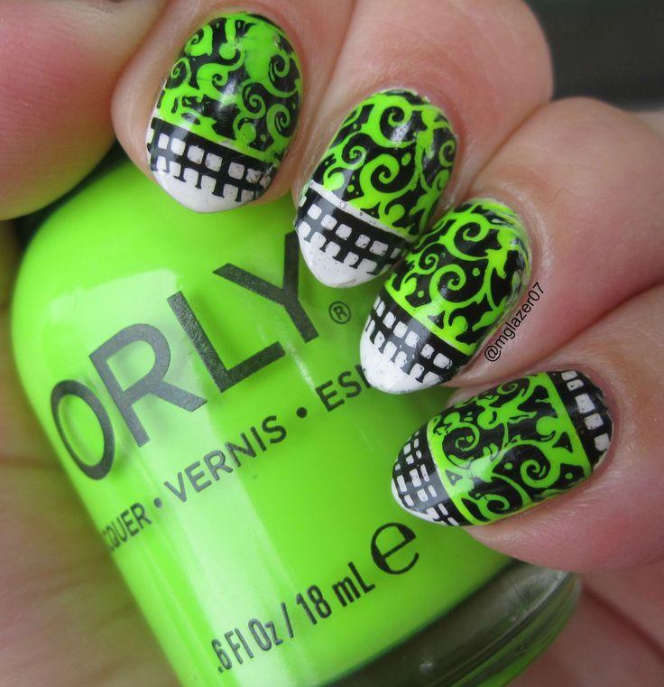 Mejores 70 imágenes de My Manis en Pinterest | Esmalte, Arte de uñas ...