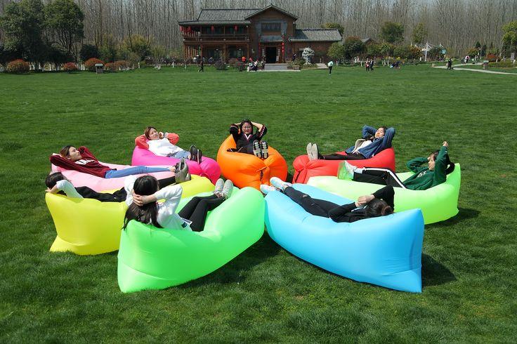 Nylon Fabric Custom Logo Hangout Sofa Air Lounge Sofa Bed #Breezybed #Bed #inflatablesofa #lazybed #AirSofa #InflatableAirSofa #BirthdayGift #cutegig #gift #Shopnow #orderonline #GiftIdeas #girlsgifts #AirBagSofa