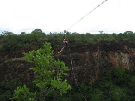 Zip Line adventure with Saf Par in Zambia
