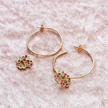 #joidart #earrings #enamel #holidaygift