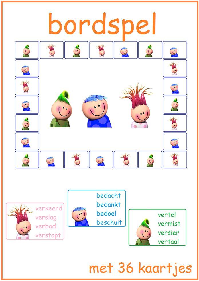 Thema 11. Goed te gebruiken bij Lijn 3 en Veilig Leren Lezen. Bordspel met leuke vragen.