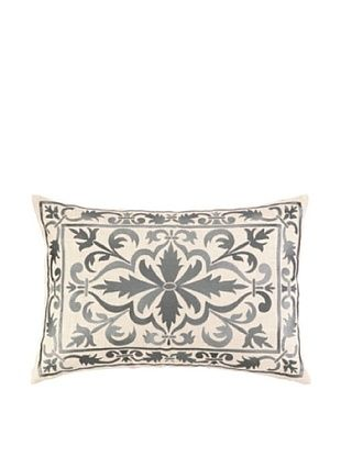 61% OFF Peking Handicraft Buckingham Pillow, Grey
