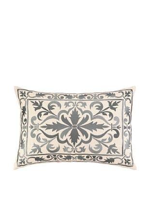 61% OFF Peking Handicraft Buckingham Pillow, Grey