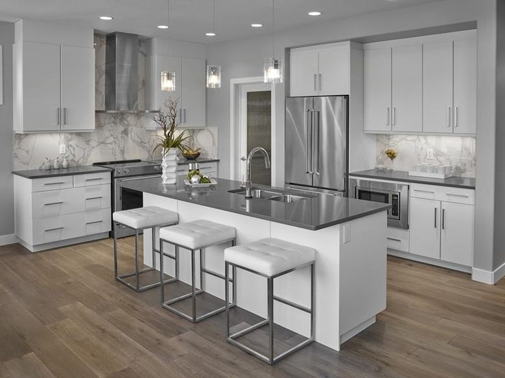 pictures of white kitchen cabinets with quartz countertops 17 best images about contemporary kitchens on 24724