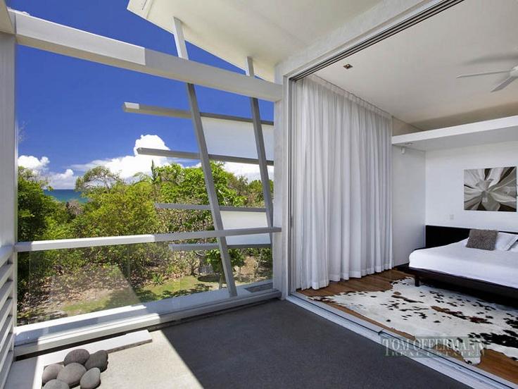 McMansion beach shack just behind the sand dunes on the Sunshine Coast north of Brisbane
